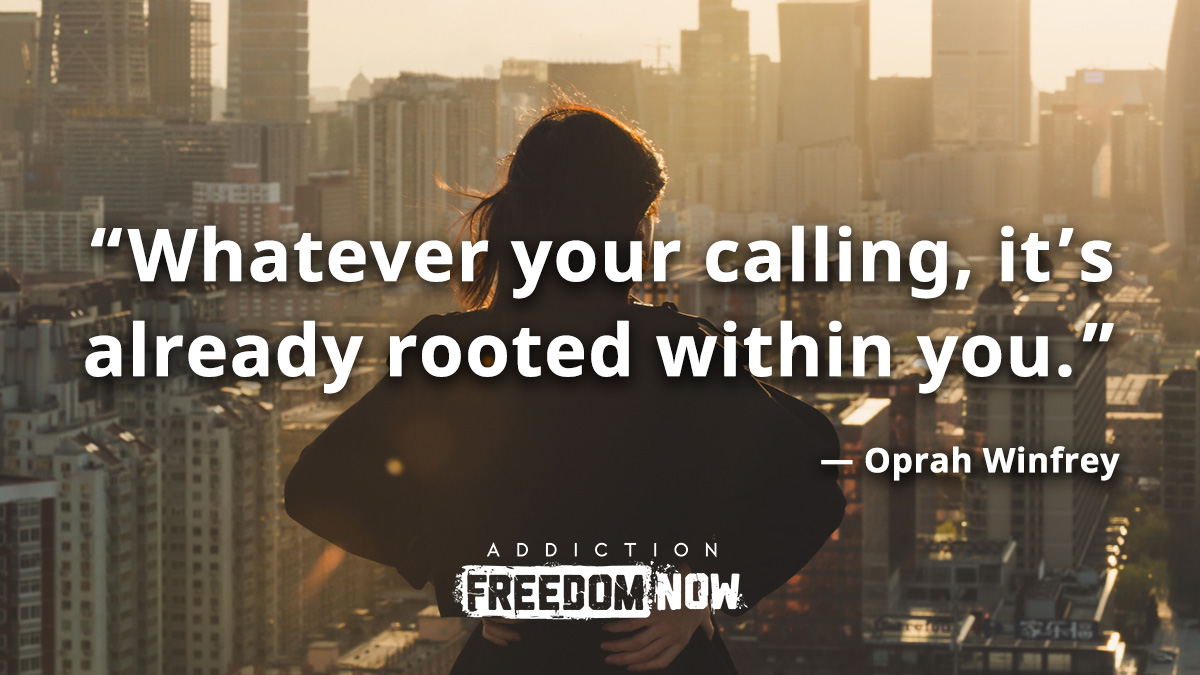 Whatever your calling, it's already rooted within you.